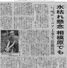 水枯れ懸念 相模原でも(神奈川新聞7.22)