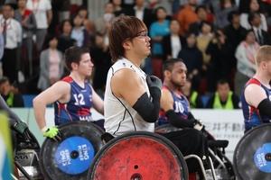 【パラスポーツ】車いすラグビー=ワールドチャレンジ大会3日目 日本が強豪・英国撃破で予選1位通過