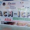 ACM-ICPC 2017 Asia Nakhon Pathom Regional に参加した話