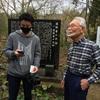 道隆寺跡を人気番組『てゲてゲ』が取材!!