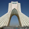 【イラン旅行】テヘラン:街のシンボル、アザディタワー。