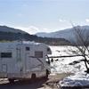 真冬の朽木キャンプ場で途方にくれた週末