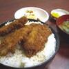 とんかつ・かねこ(新潟市大学南)の名物かつ丼・0930