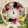 【体験レッスン】ブライダルレッスン★ご両親への贈呈品としてプリザーブドフラワーの花時計作り♫