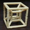 【Processing×Blender】Tesseractを3Dプリントする