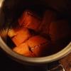 焼き柿のカクテル