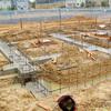 工事25日目:基礎フーチング完成