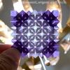美しいあじさい折りのコントラスト。 〜折り紙コラムとミュージカルの話〜