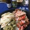 松葉&セコ(香箱)ガニの夫婦丼!withおすすめ甲羅酒はどのタイプがいいのか?春心生酛純米と楽の世山廃本醸造で試してみる。