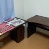 子供部屋の机をニトリのネット通販で買いました。