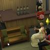 シムズ4プレイ記:068.深司とルーシーの結婚式