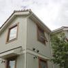 久しぶりの窓木枠塗装メンテ