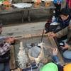 アイヌ民族の方々と交流会をしました。