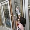 そうじ:昇降口、2年生の教室・廊下