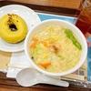 海鮮野菜そば&イエロークランチチョコレート