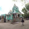 カザフスタン・トランジット(2019年5月) アルマトイの観光スポット:ニコリスキー・サボール