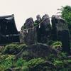 岩崎山の熊野神社と五枚岩と観音寺その2