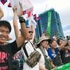 サッカー U 23 対中国戦、応援に行ってきました。