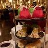 英国グルメ報告(1)アフタヌーンティー @Hotel Cafe Royal