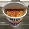 日清食品 カップヌードル シーフード ビッグ に 東洋水産 えび天ぷら を入れて食べてみた話