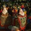 シェラの新年のお祭り「プロセシオン」を写真レポーグアテマラ通信