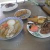 幸運な病のレシピ( 1995 )昼:手羽先下ごしらえ、おでん白菜入れ、豚ハツ炒め