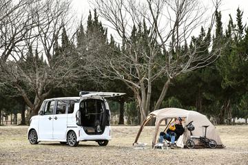 Honda N-BOXでいく週末ソロキャンプ!おすすめ純正アクセサリーも紹介
