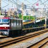 6月26日撮影 東海道線 平塚~大磯間 貨物列車① 金太郎2号機 その他2本