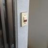 玄関チャイムをモニターホンに取替事例01