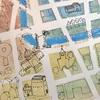 マスキングテープが余って仕方ないなら地図アート!