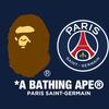 A BATHING APE x PARIS SAINT-GERMAIN