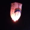 久しぶりに観光ツァーに参加しました。上桧木内の紙風船が幻想的!