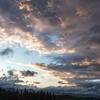 秋色パレット 雨上がりの夕景