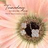 ジュエリー 京都 新作② 『Flora/フローラ』のネックレスとピアス