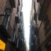 バルセロナ ゴシック地区の夕方散歩