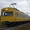 近江鉄道:821F 一般運用を去る ⑥  蛇溝踏切の朝 (2020.10/22)