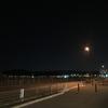 満月前夜の夜ラン