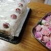 スイーツ男子のチーズケーキと大きなバースデーケーキ