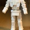 ロボット骨格にボディアーマーを装着する