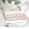 【名刺・ショップカード】サロンご予約カード・2つ折りタイプの大人可愛い名刺デザイン特集
