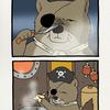 チベットスナギツネで海賊の砂岡さん「船長のナイフ」