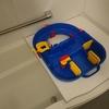 アクアプレイは家の中どこで遊ぶ?サイズを変えてお風呂場で遊ぶのも準備楽ちんで楽しい!