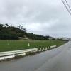 雨から一転して晴天へ、金武町から北谷美浜。(Phoneで撮影)