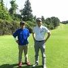 今日は、猛暑の中のゴルフでした。