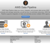 【AWS】AWS Data Pipeline入門