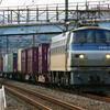12月7日撮影 東海道線 平塚~大磯間 貨物列車撮影 迂回5052ㇾ 1155ㇾ 2079ㇾ
