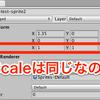【Unity2D】Pixels per Uint について