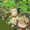 ドーブルが街を緑に塗りたくる!【ポケモンGOAR写真】武蔵小杉のお庭にて