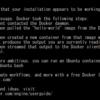 WSL上でDockerが動いた!けどまだつらい?