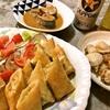 春巻き (頂き物の冷凍食品)